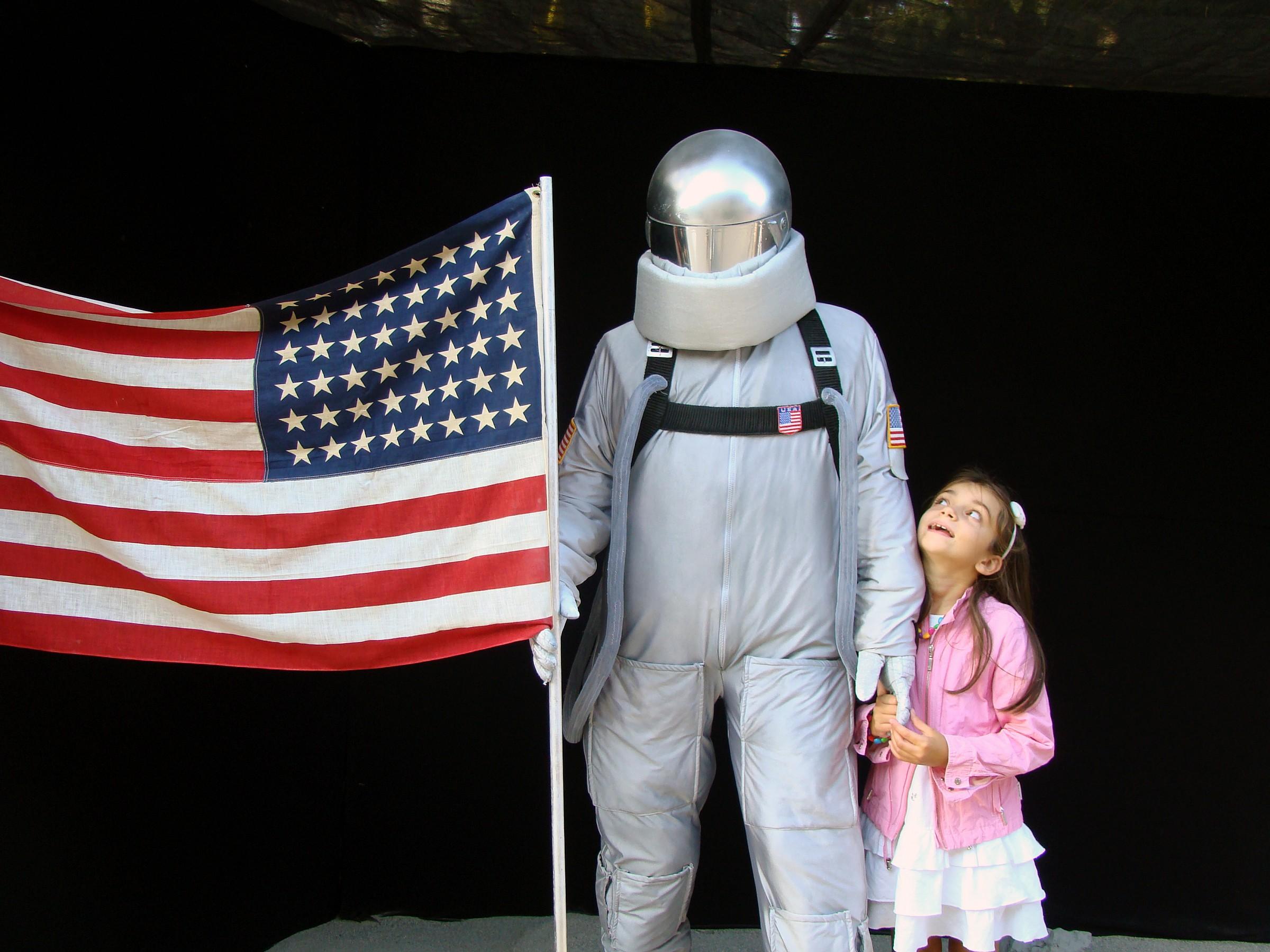 My friend astronaut...