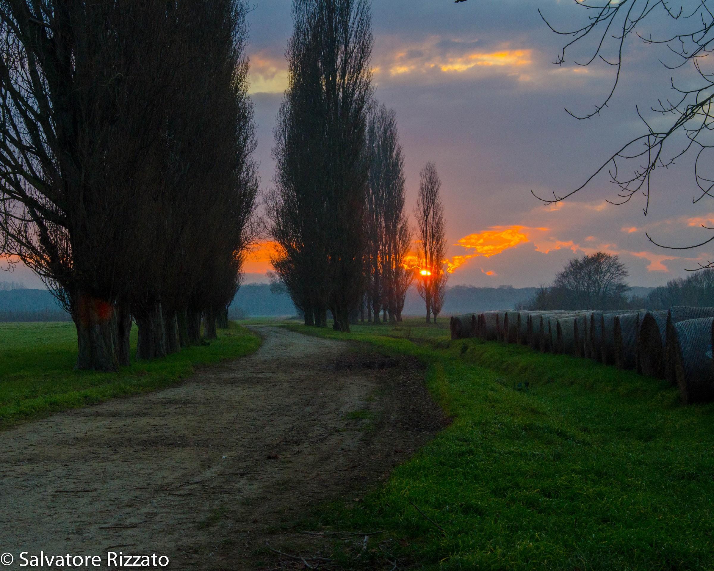 Sunset at St. Piero a Grado...