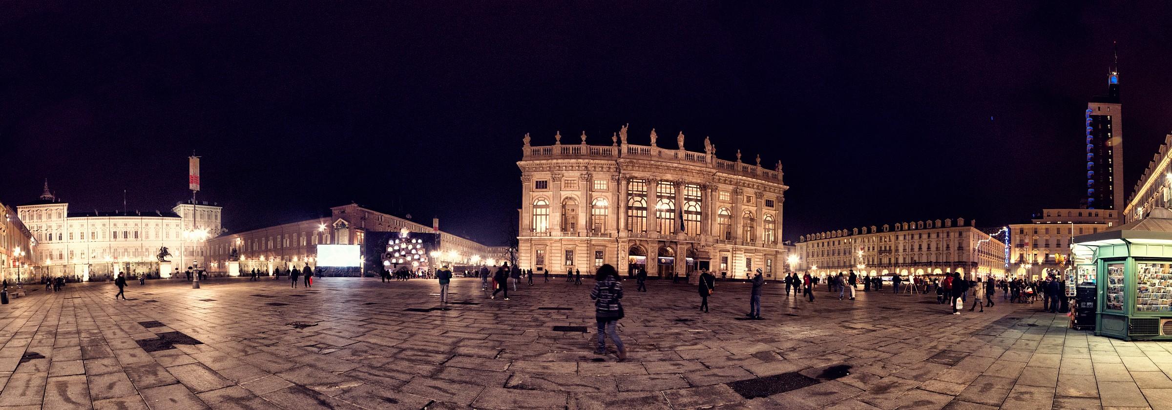 Piazza Castello, Turin...