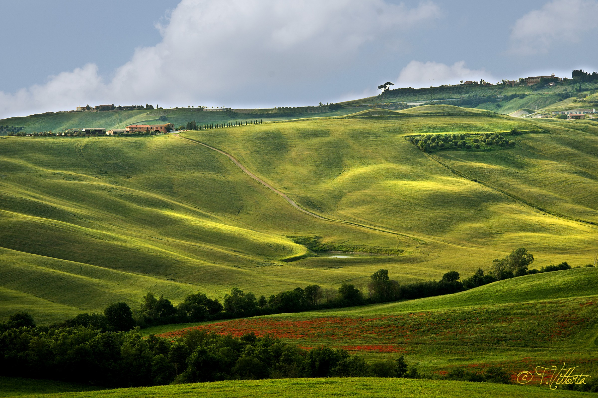 Valleys of Tuscany...