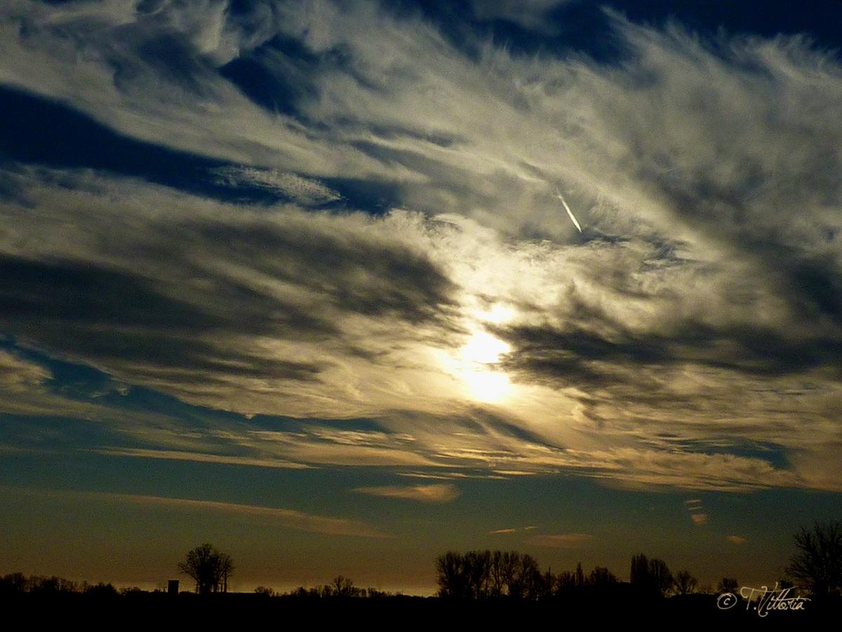 Cloudy Sunset...