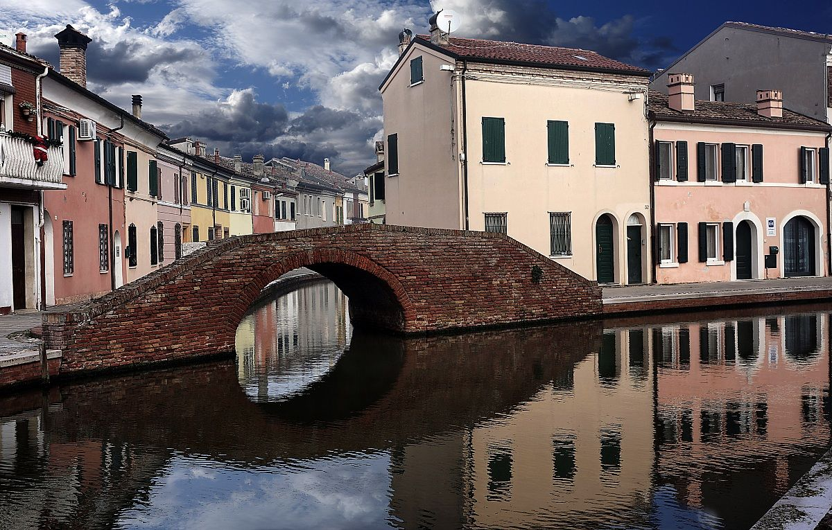 Comacchio and its canals...