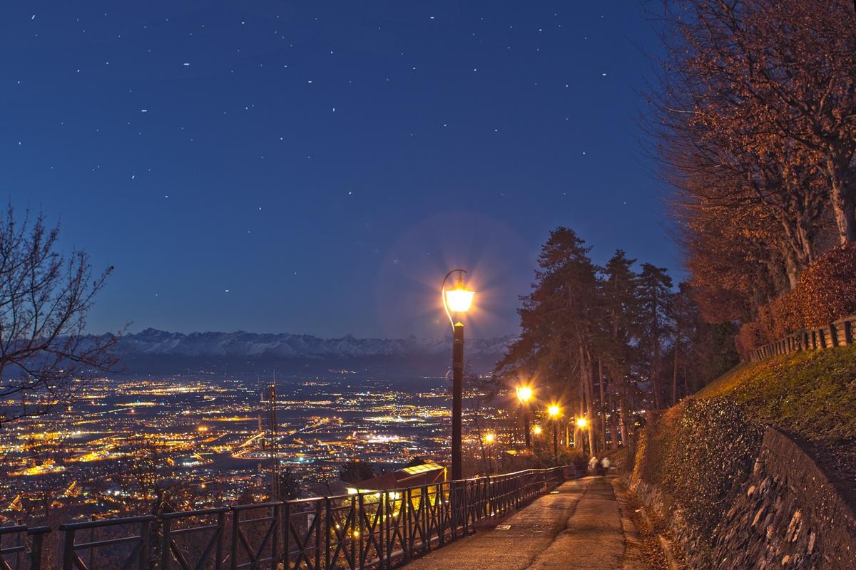 Tramonto a Torino...