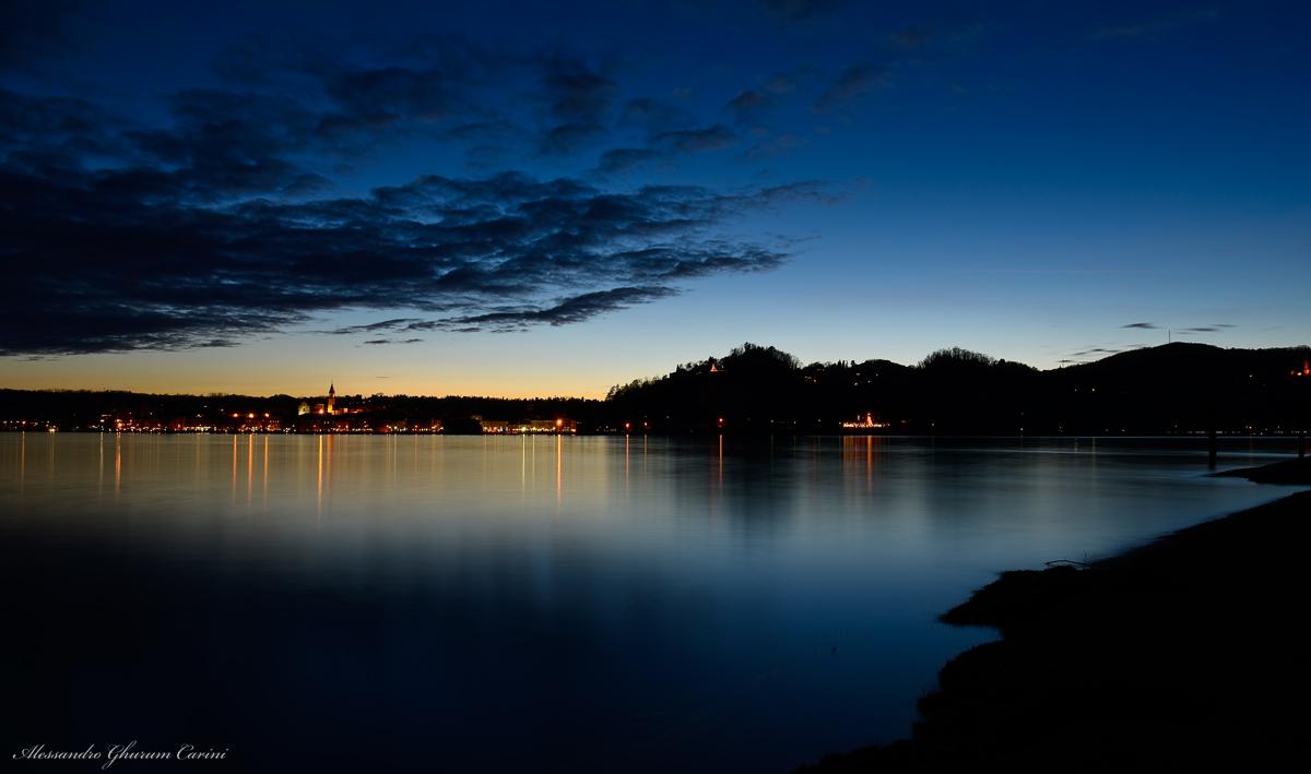 A sunset to Arona...