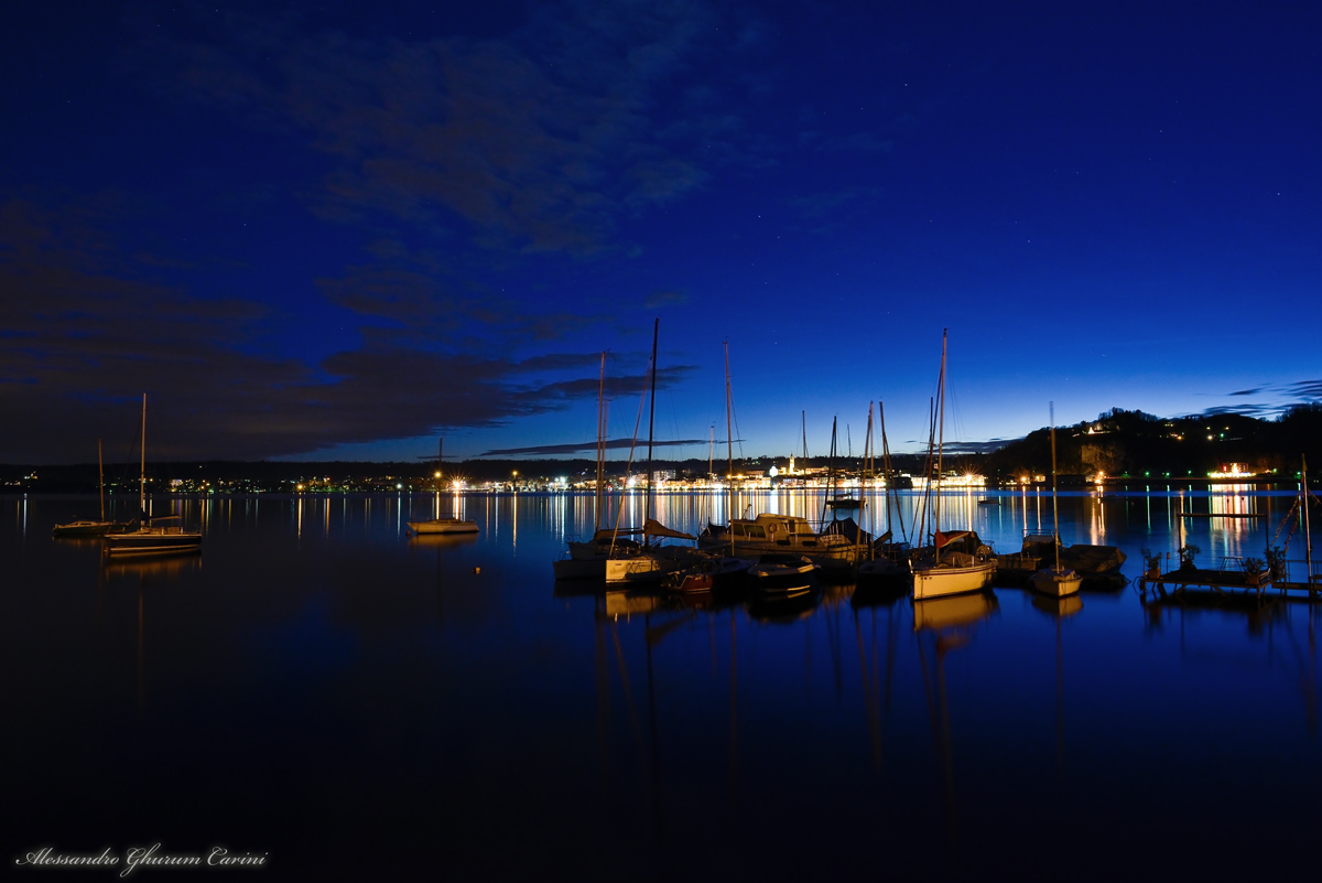 Boats in Blue...
