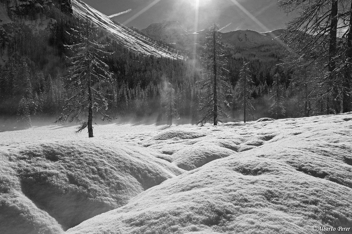 Atmosfera in Val Pramper...