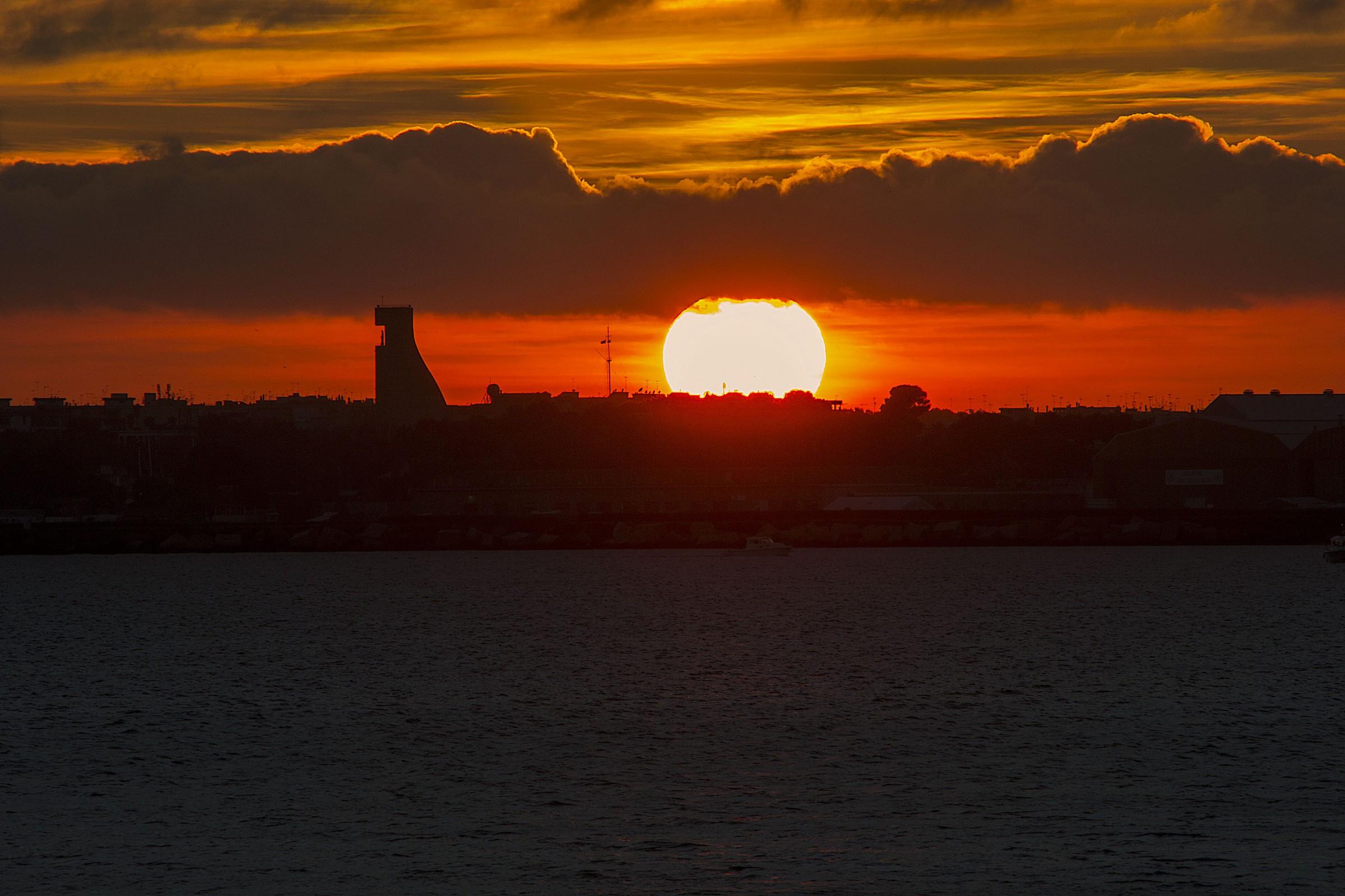 sunset on toast...