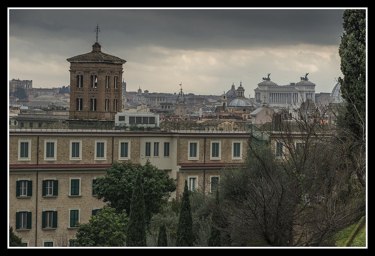 Rome - rooftops...