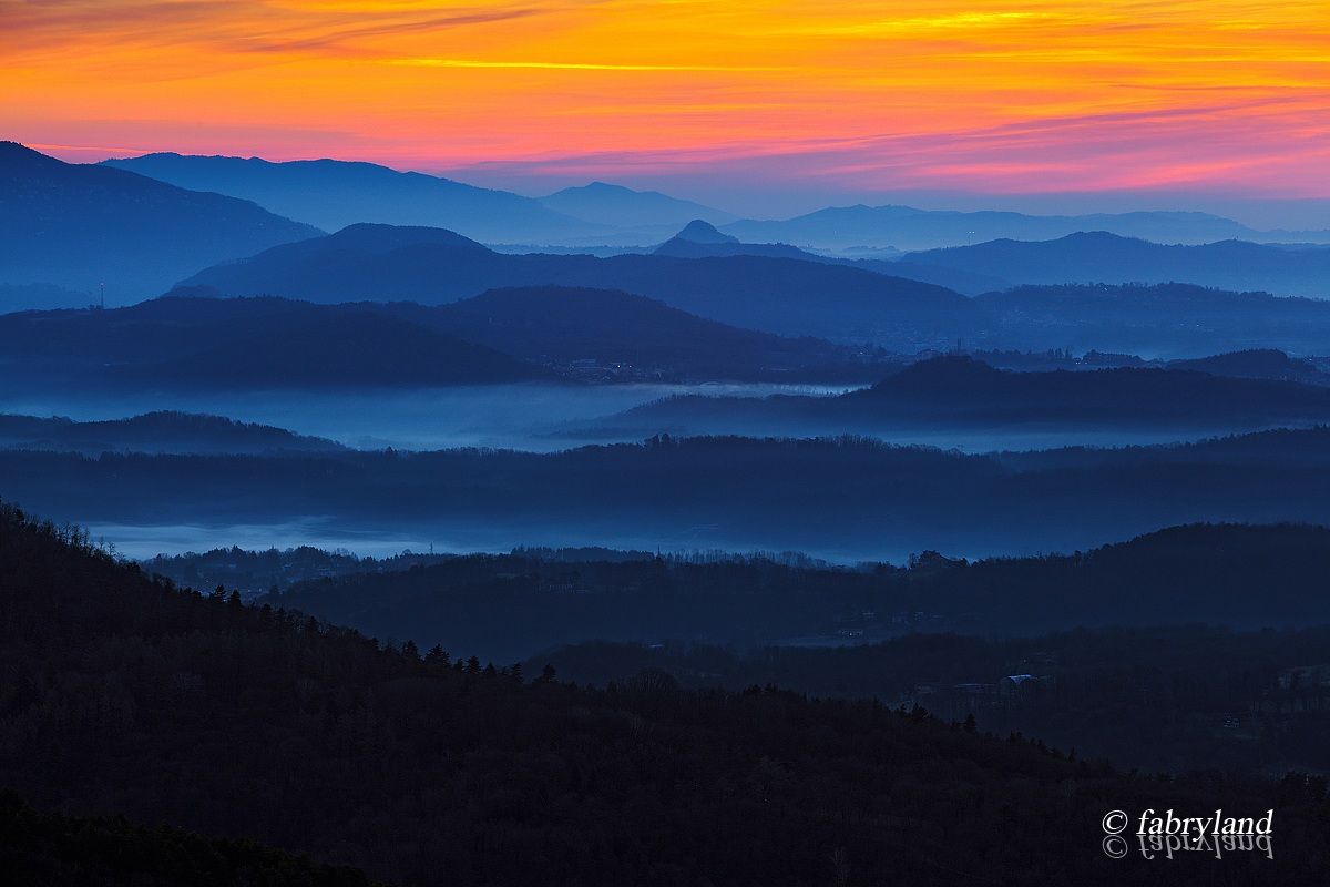 Mists at dawn...