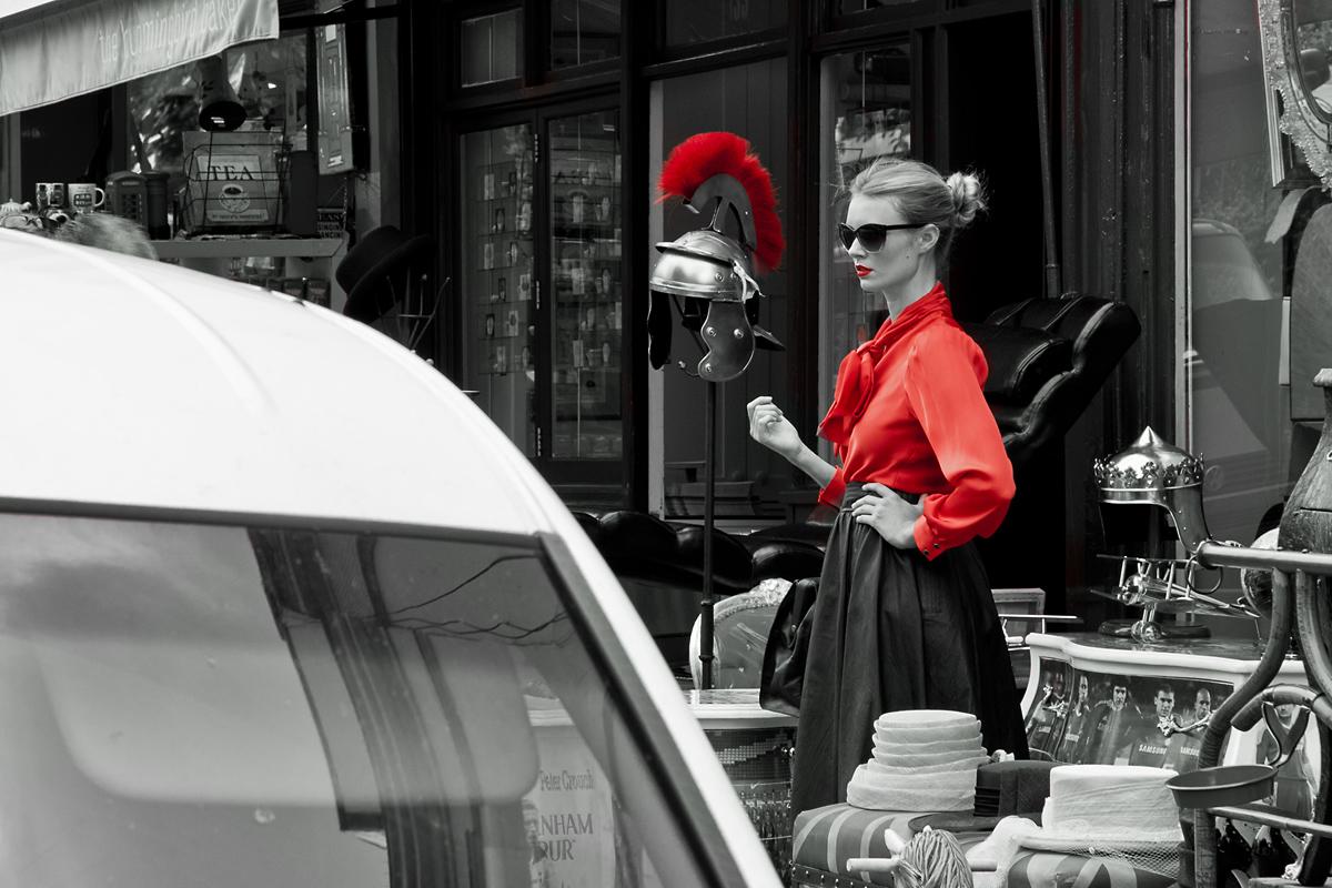 La signora in Rosso...