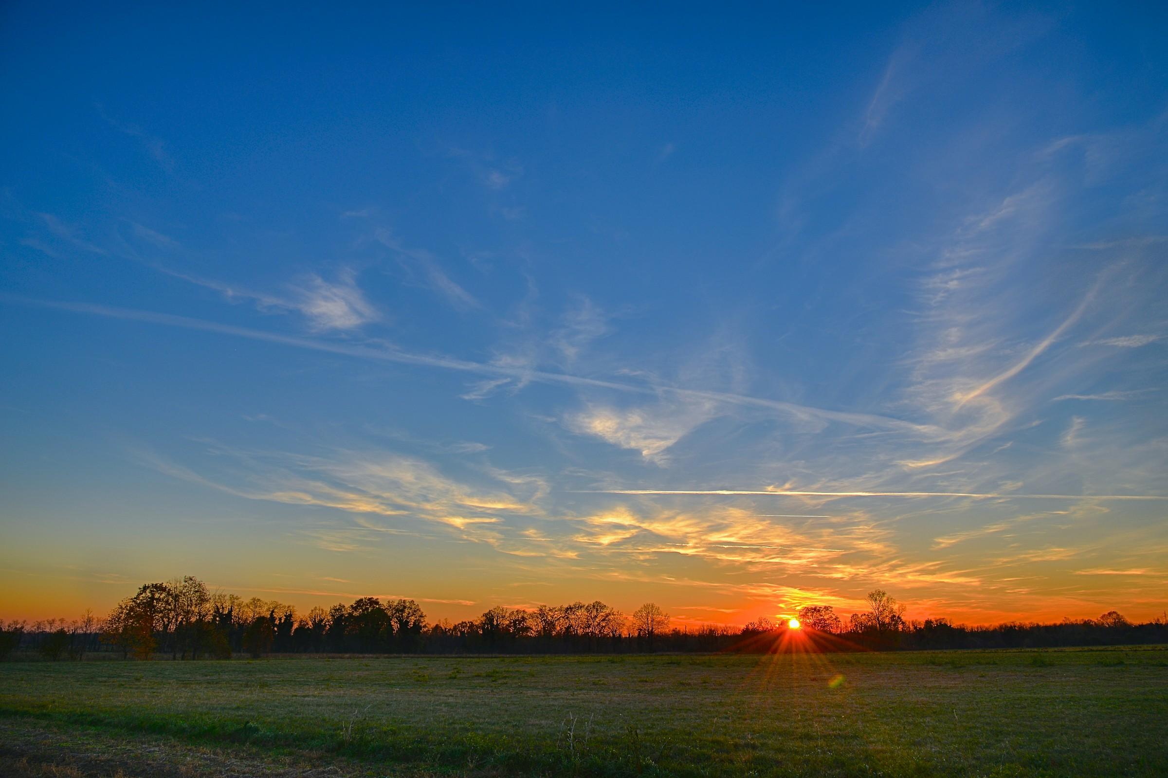 Sunset in NOR EST...