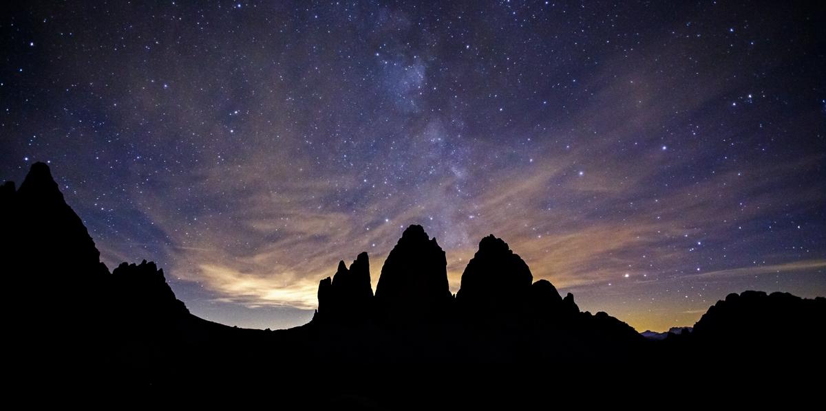 Night Three Peaks...