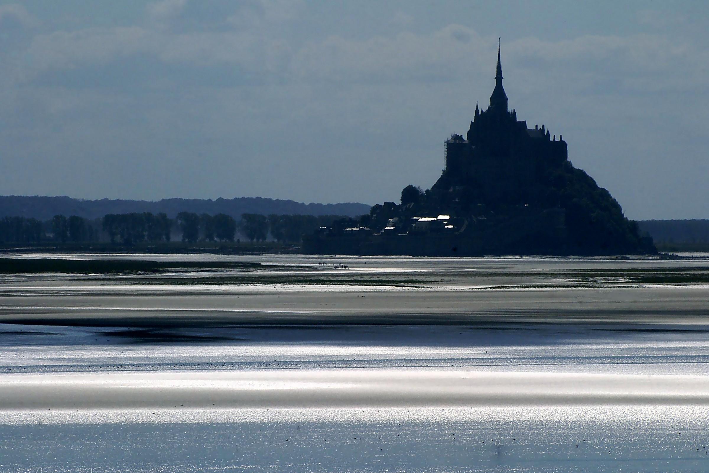 Sogno ... o son desta??  Le Mont Saint Michel...