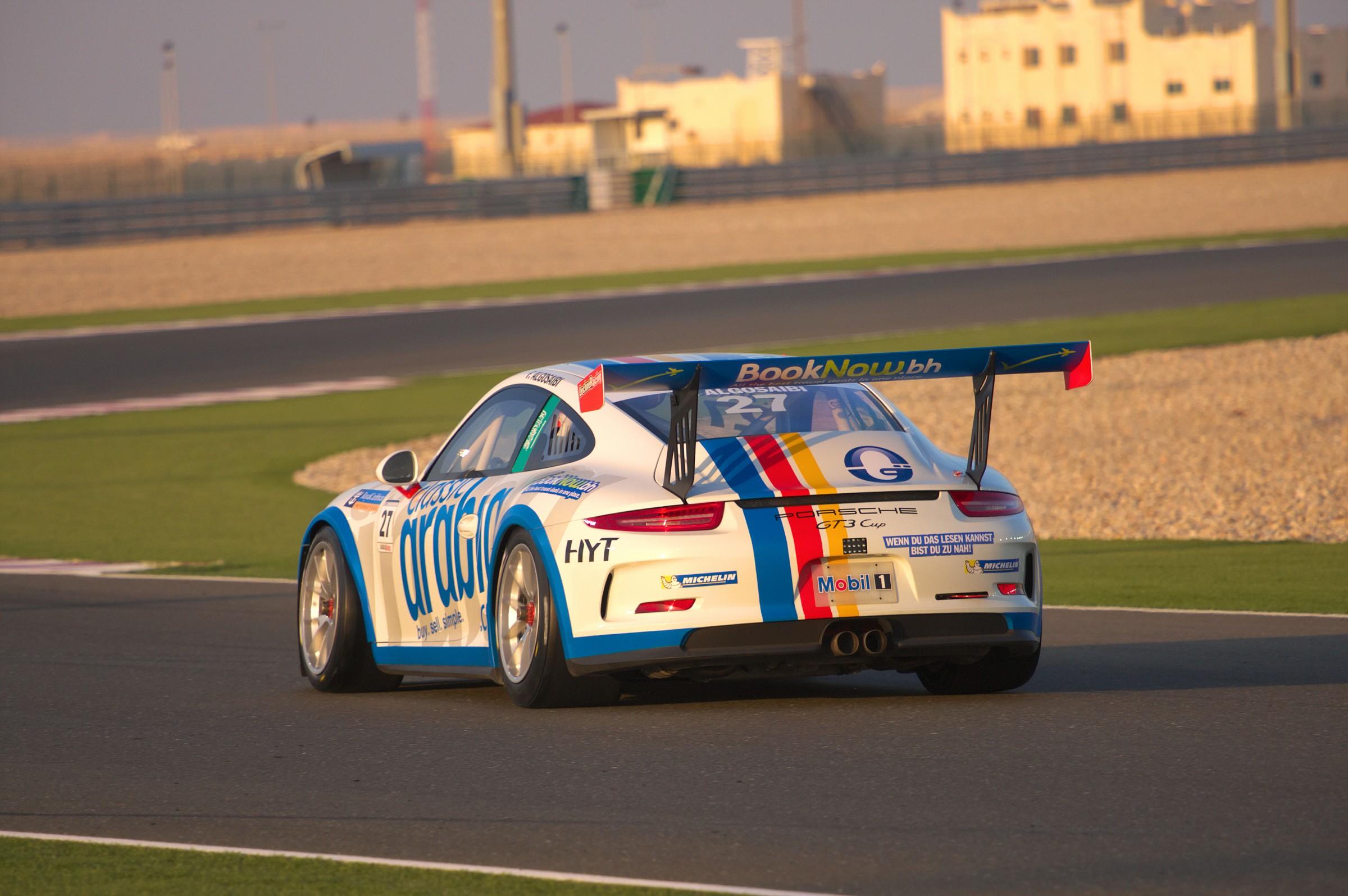 Porsche GT3 Cup Losail 3...