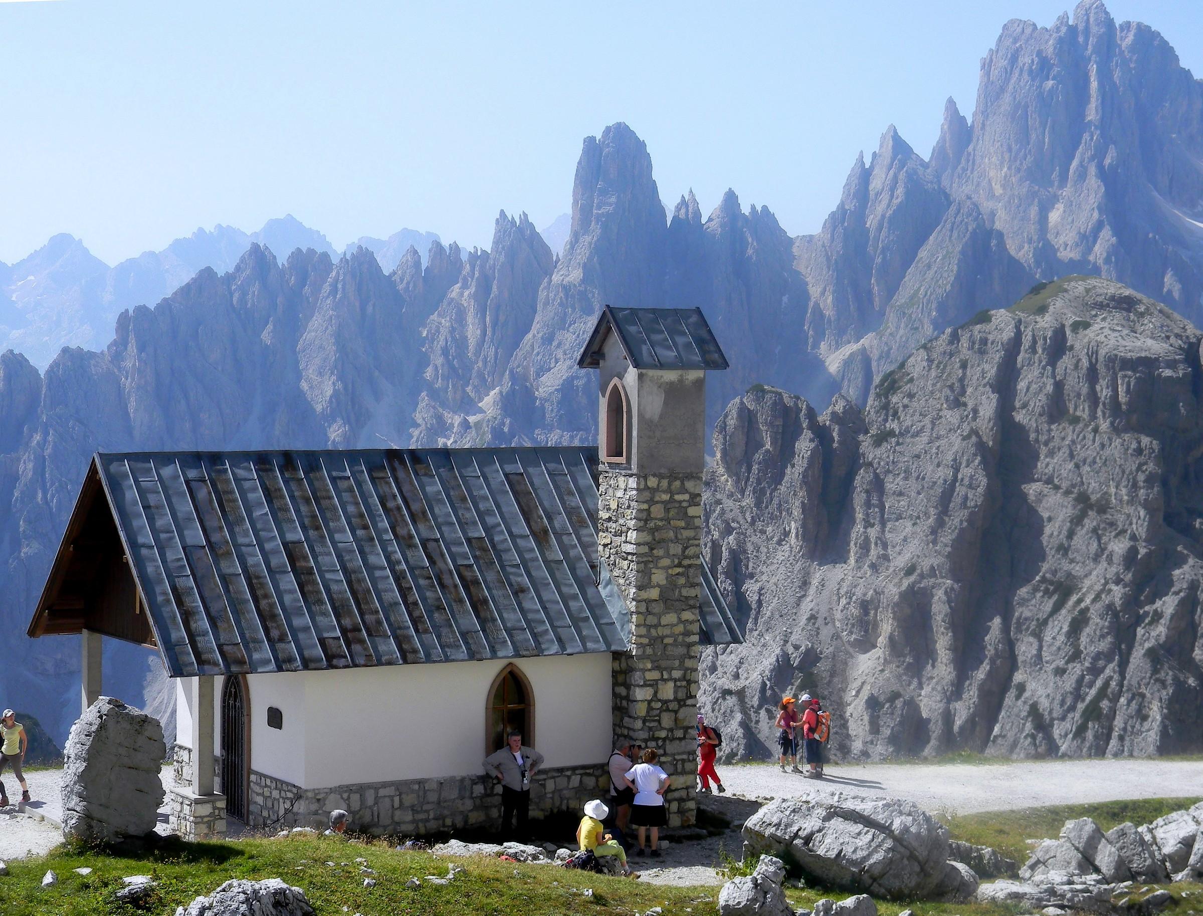 mountain church...
