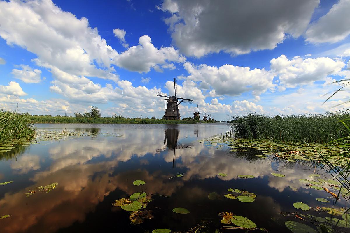Kinderdijk, Netherlands...