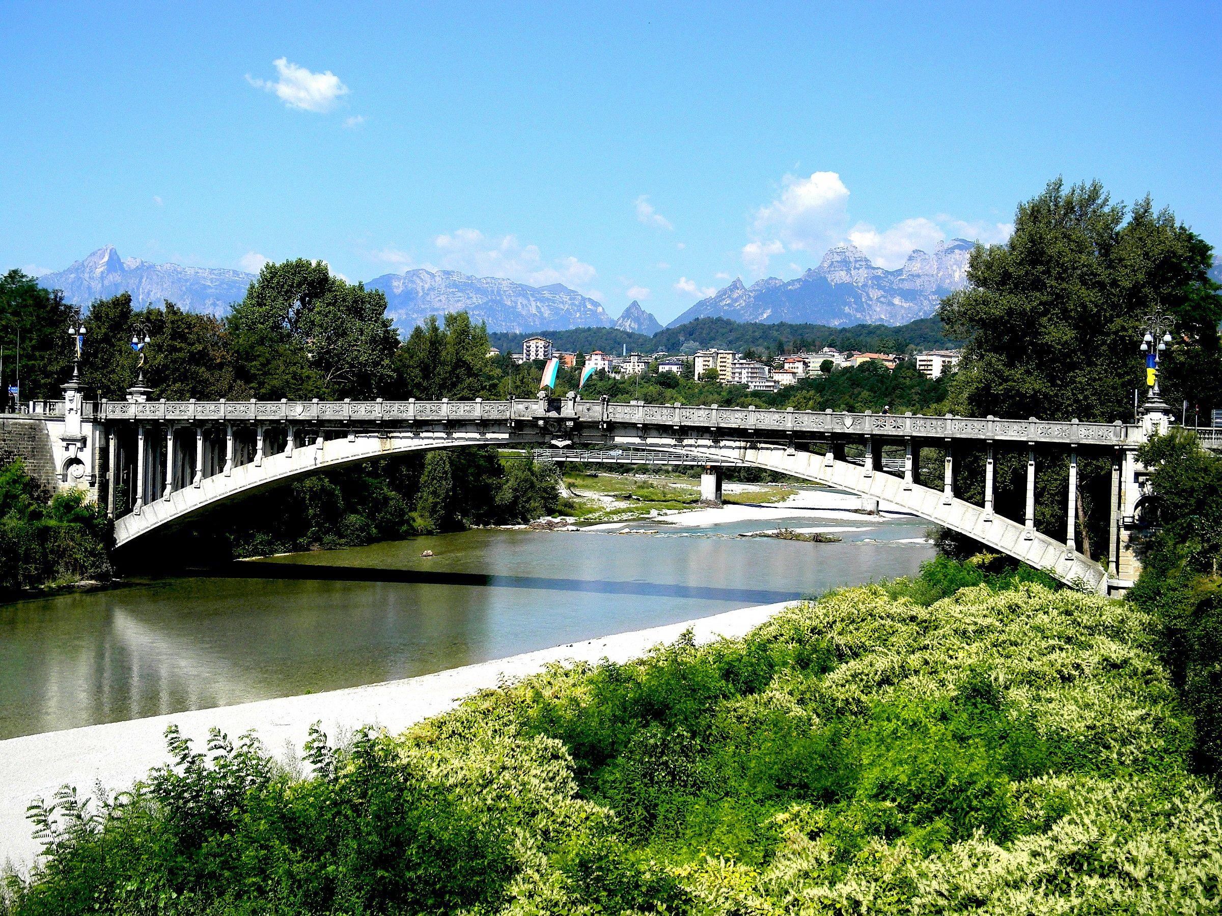 bridge over the river...