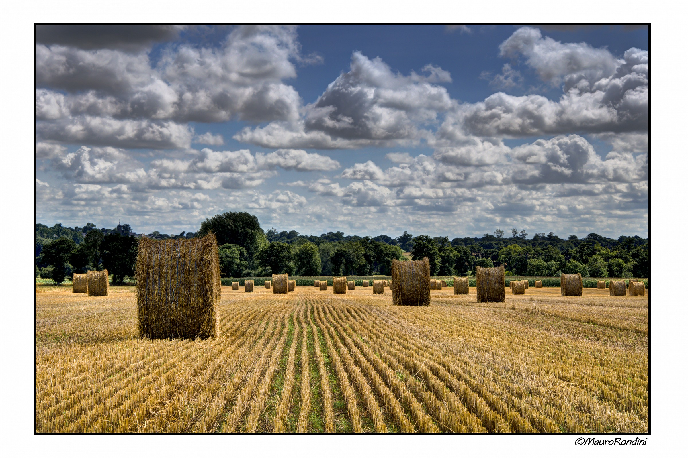 Bales of straw...