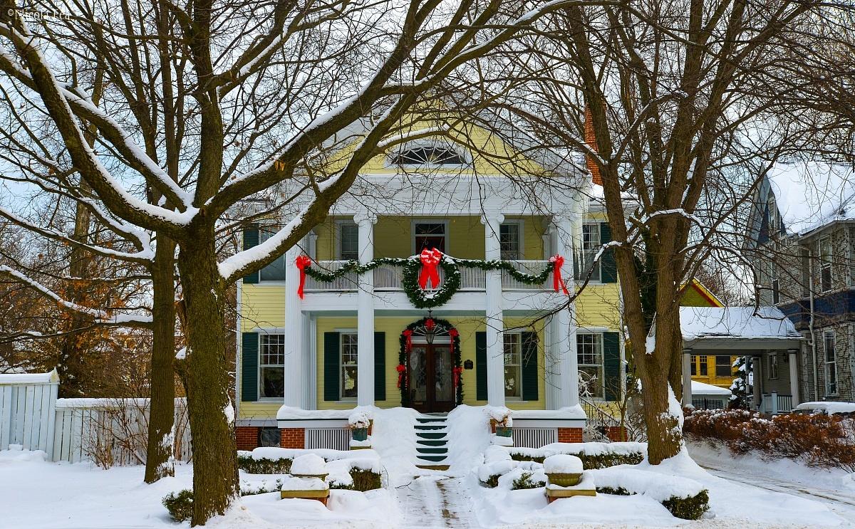 Oak Park house...