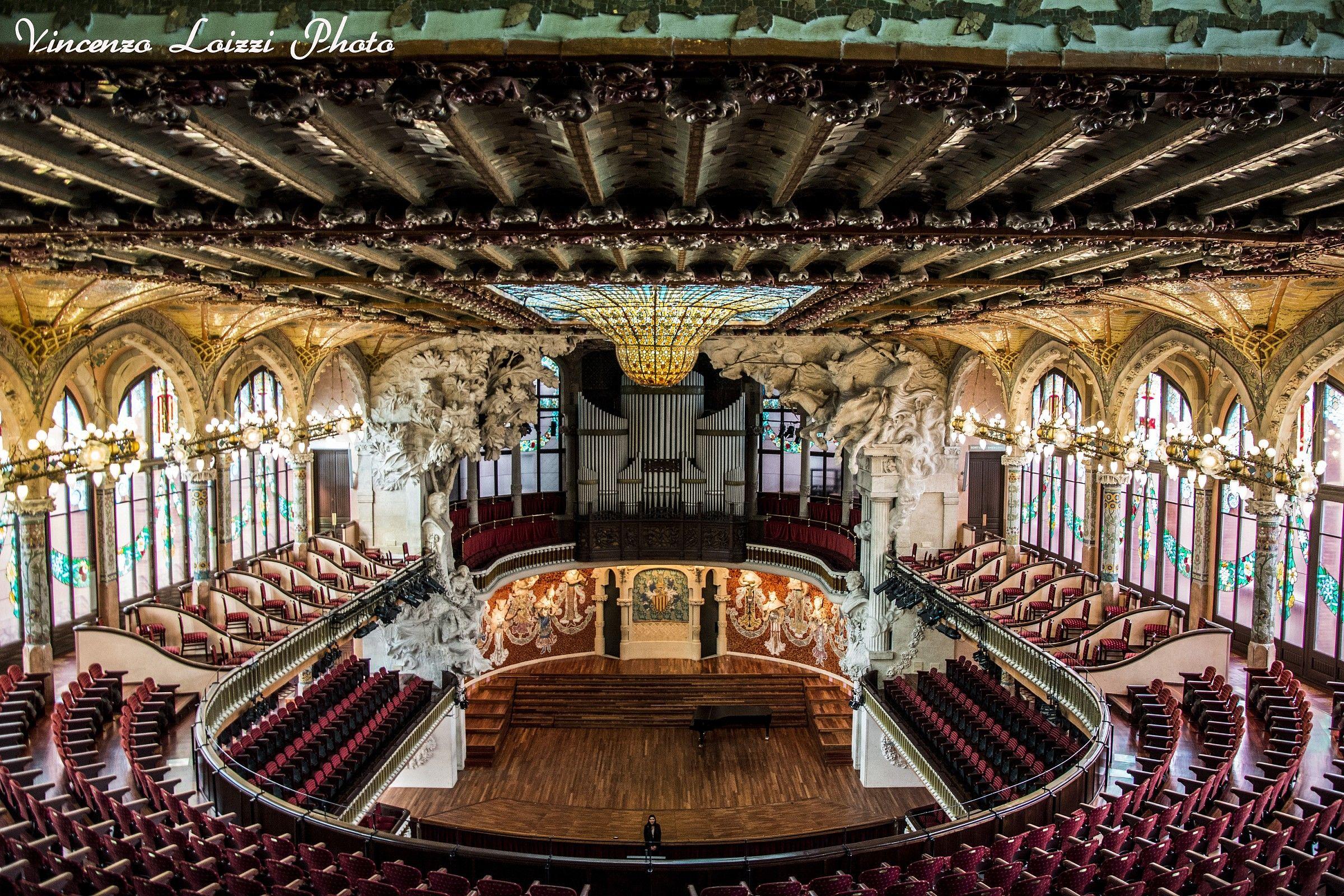 Palau de la Musica Catalana - Barcelona...