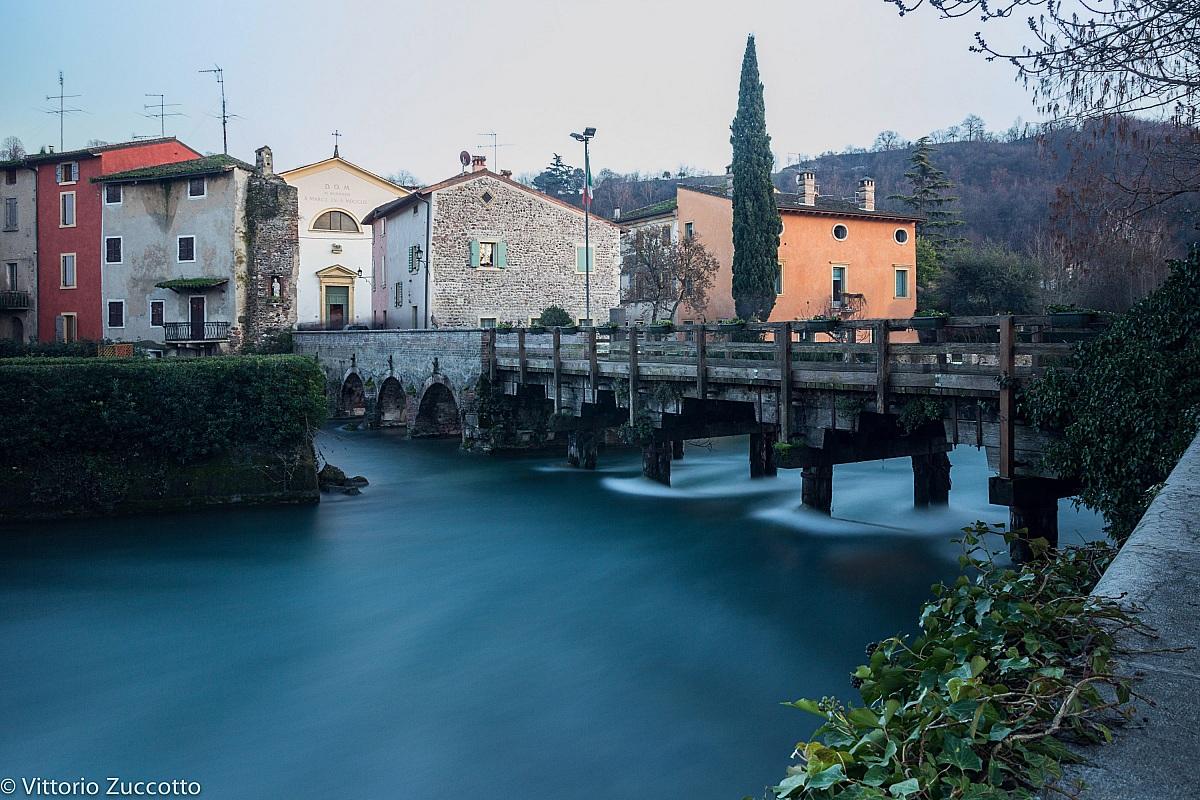 Village (wooden bridge)...