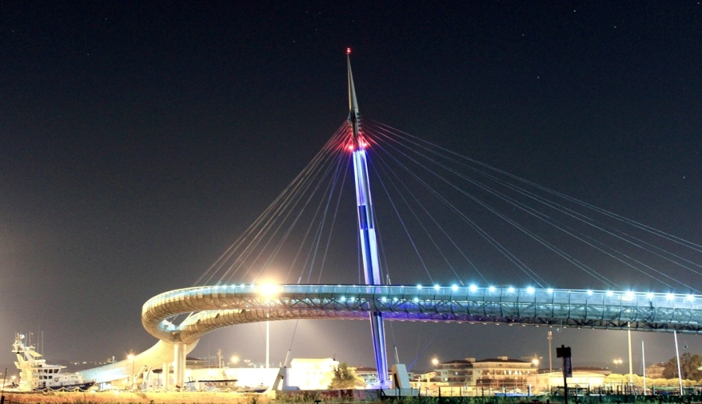 Pescara Sea Bridge...