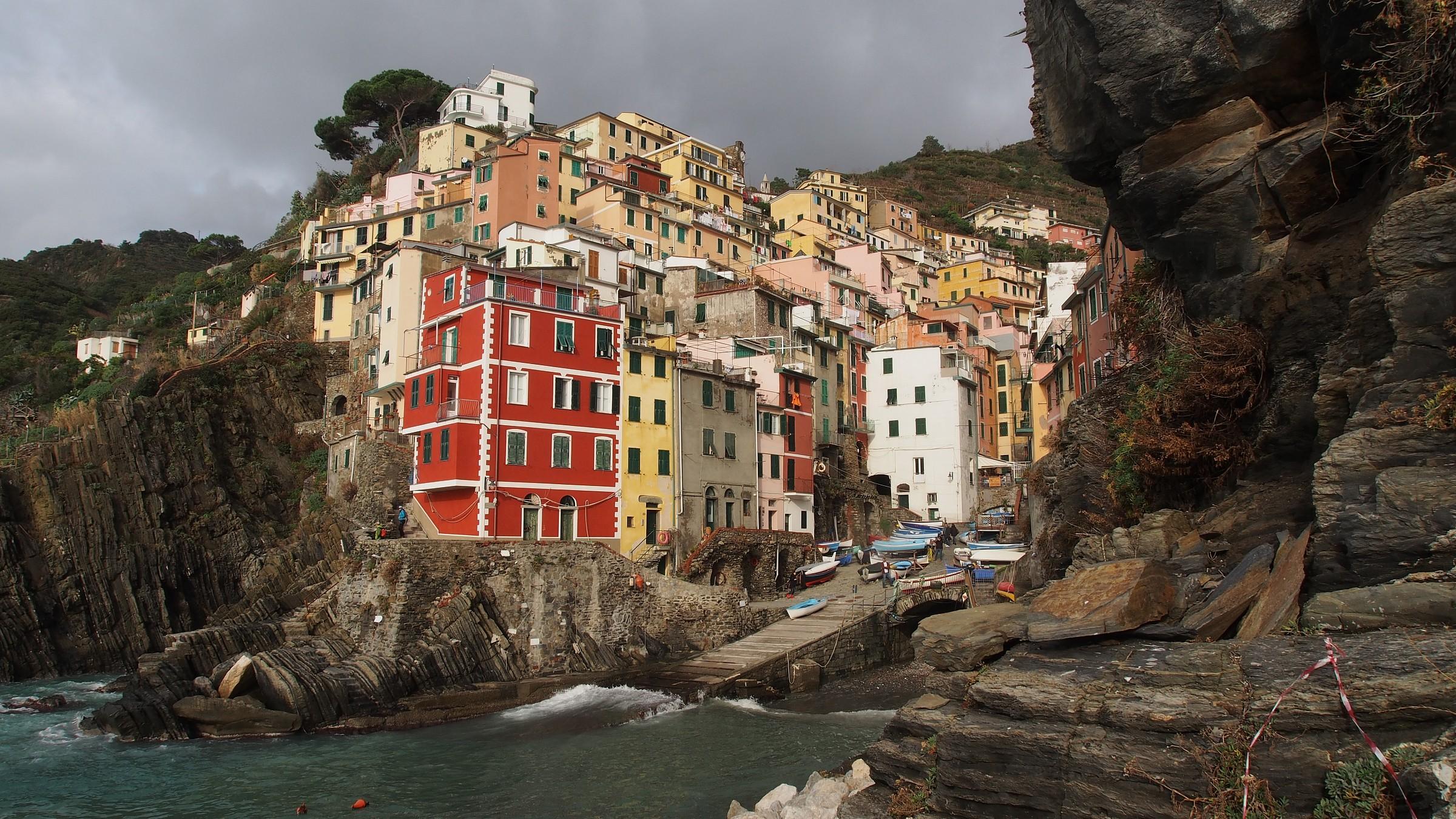 view of Riomaggiore...