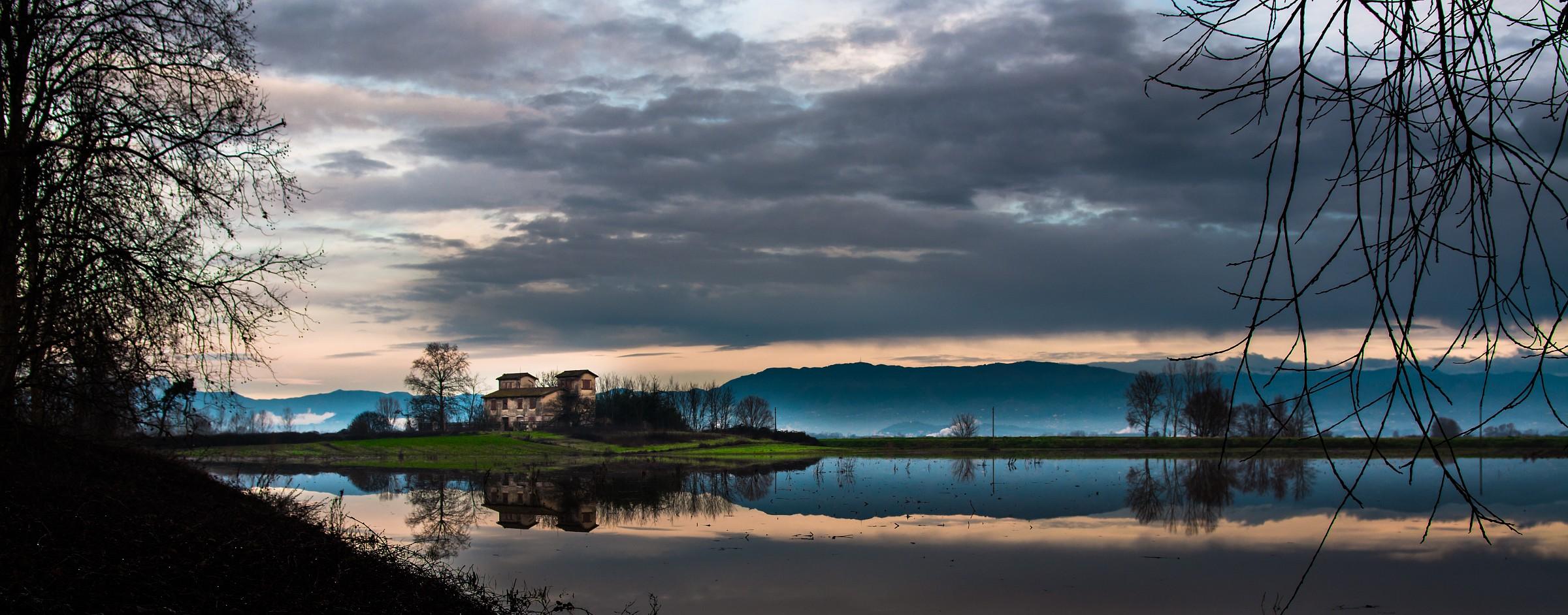 Sunrise on the Marshes...