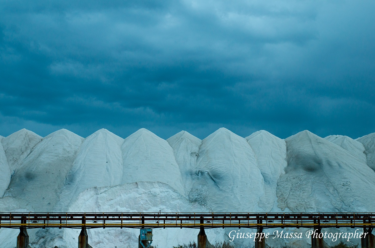 Salt flats...