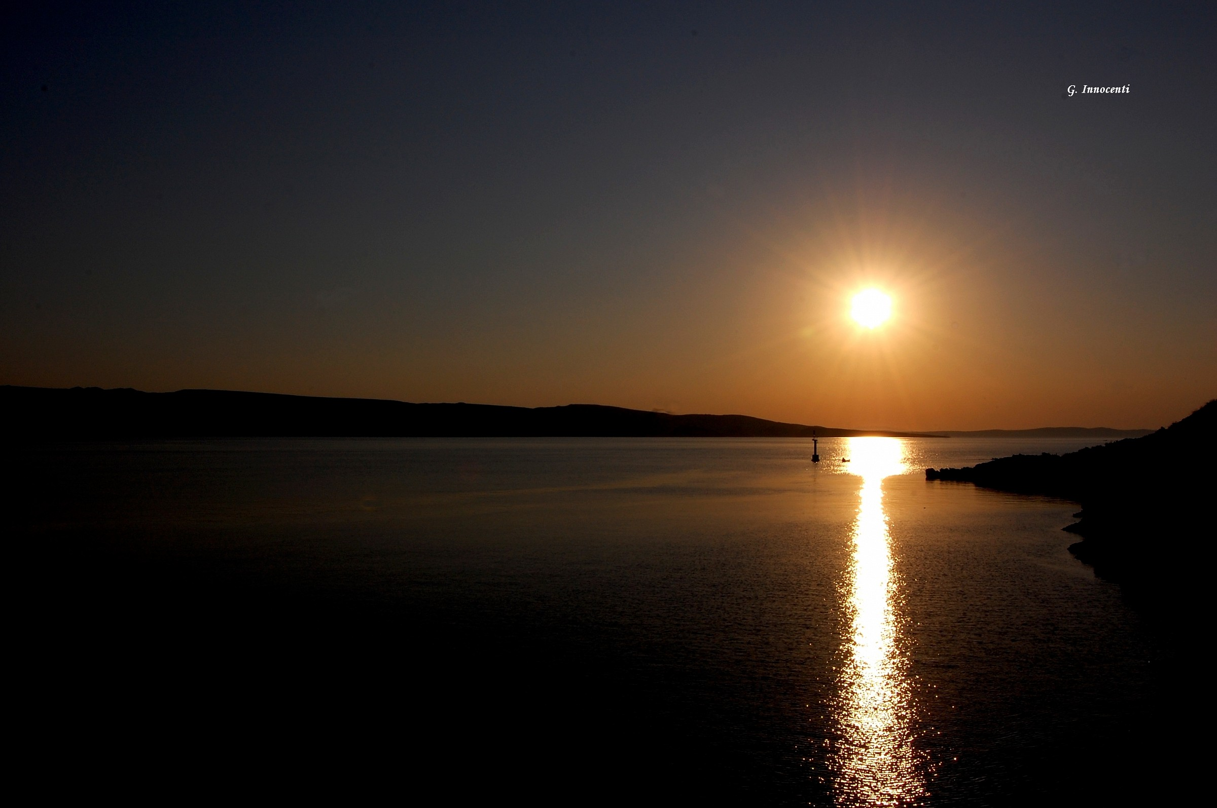 sunset island Pag (Croatia)...