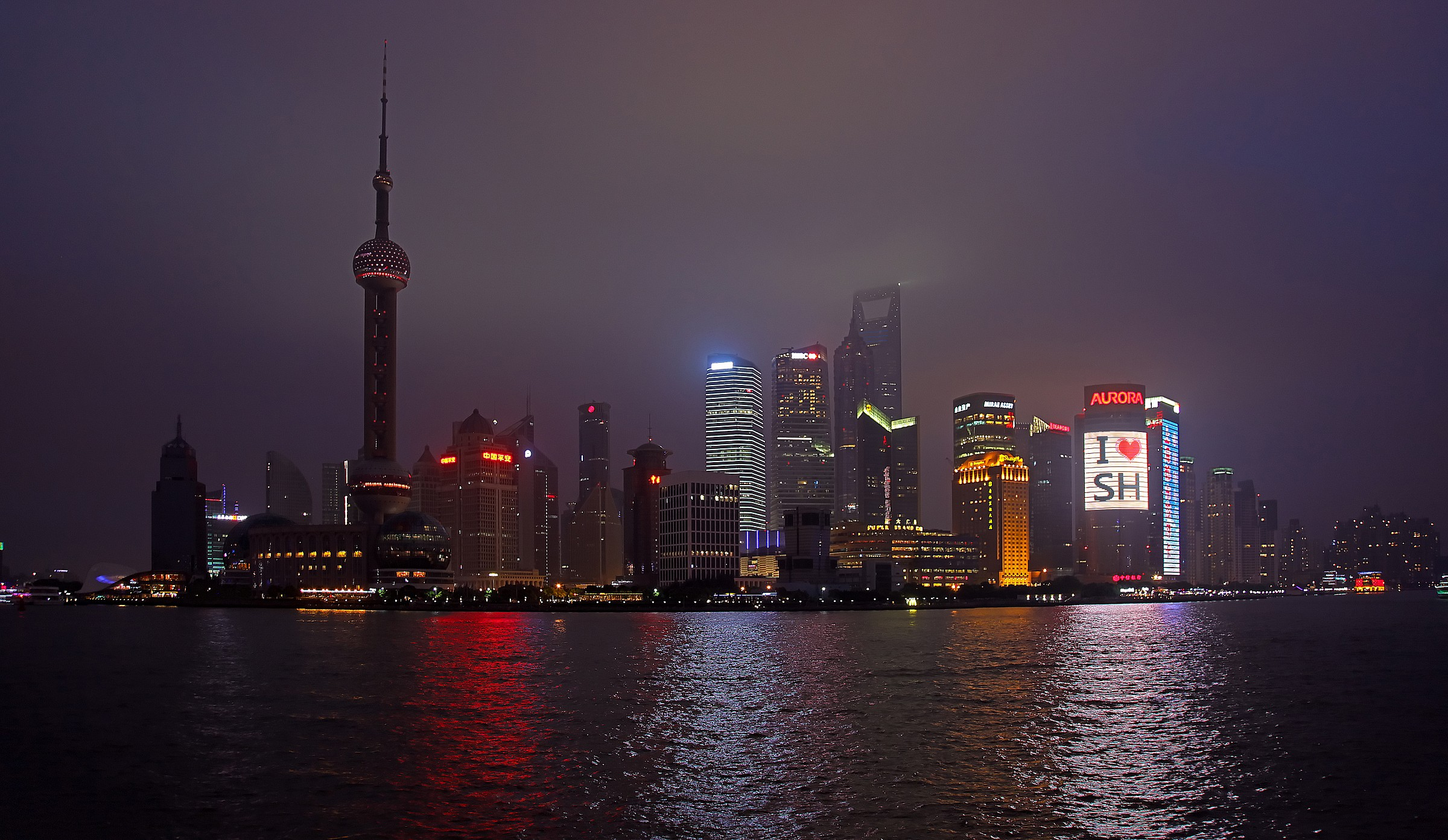 Shanghai by night...