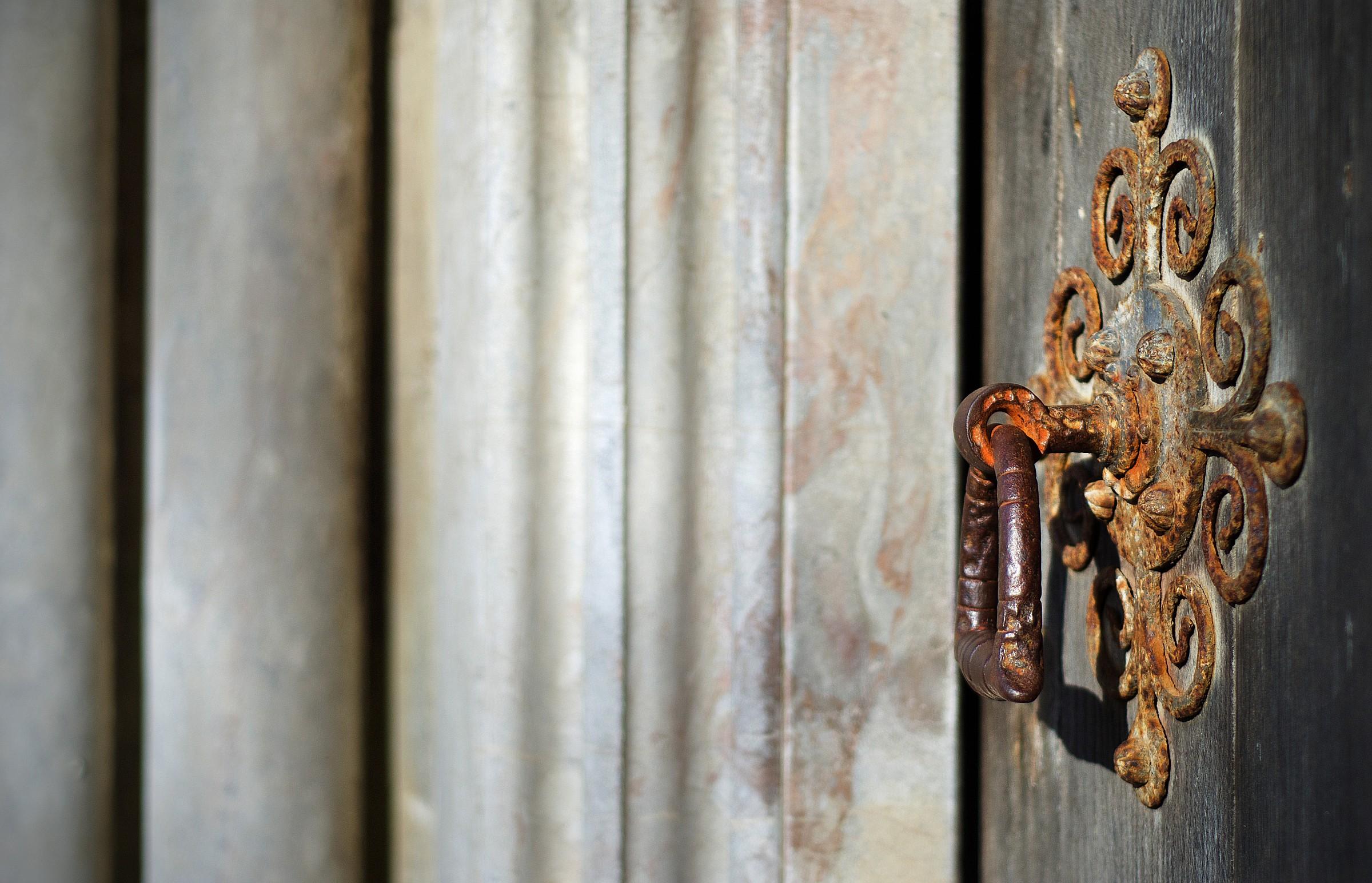 Maniglia per porta Cattedrale di Salisbury...