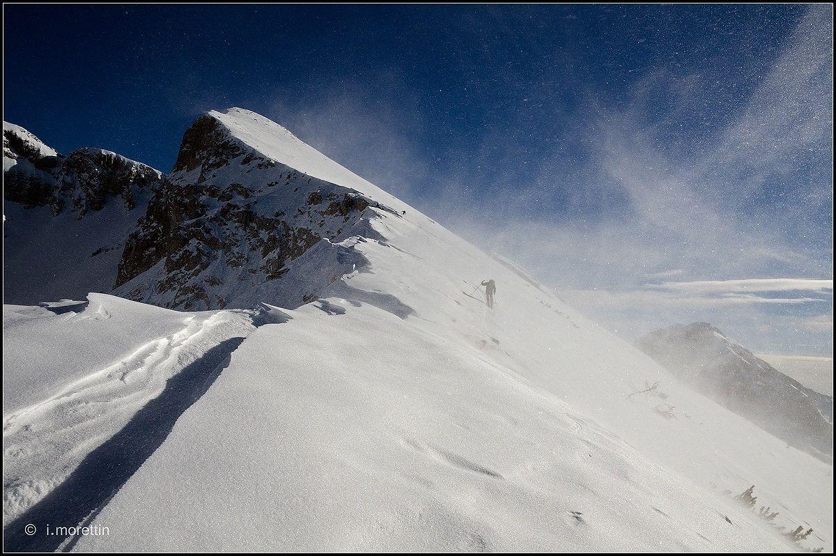 Powder ... snow...