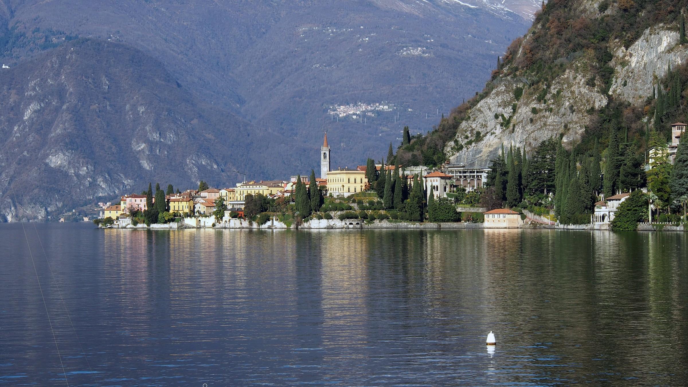 lakefront in Varenna...
