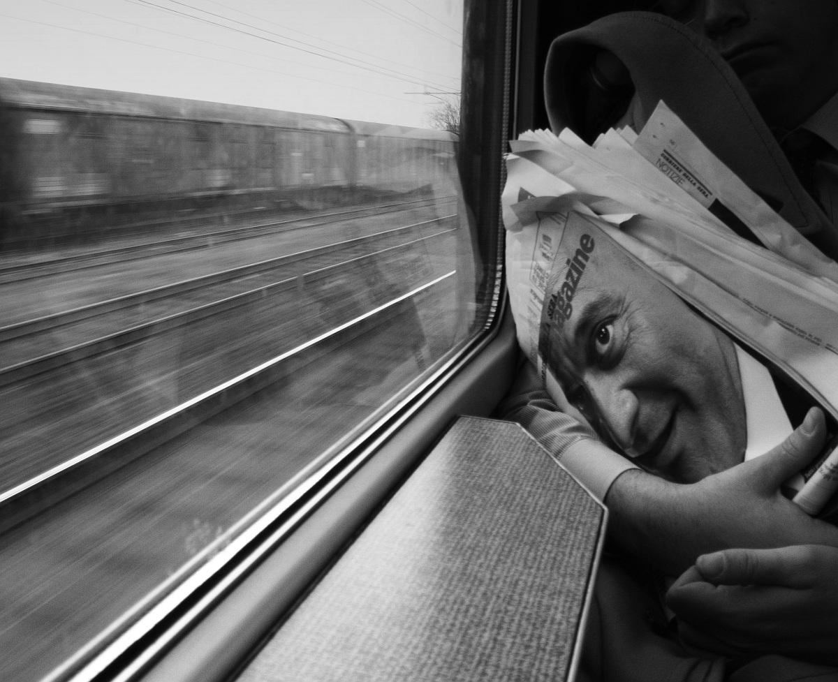 By train...