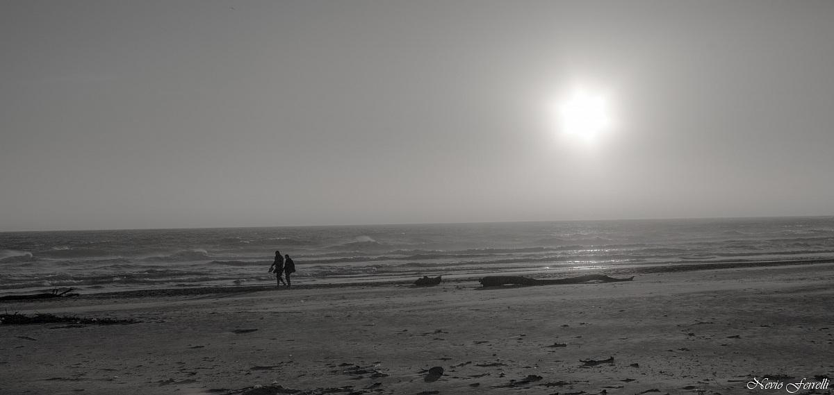 Valentine's Day Walk by the sea...