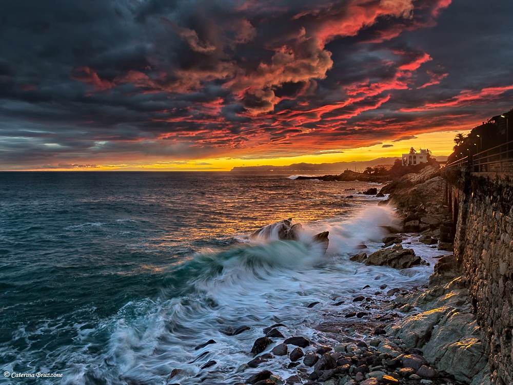 Colors of the sea...