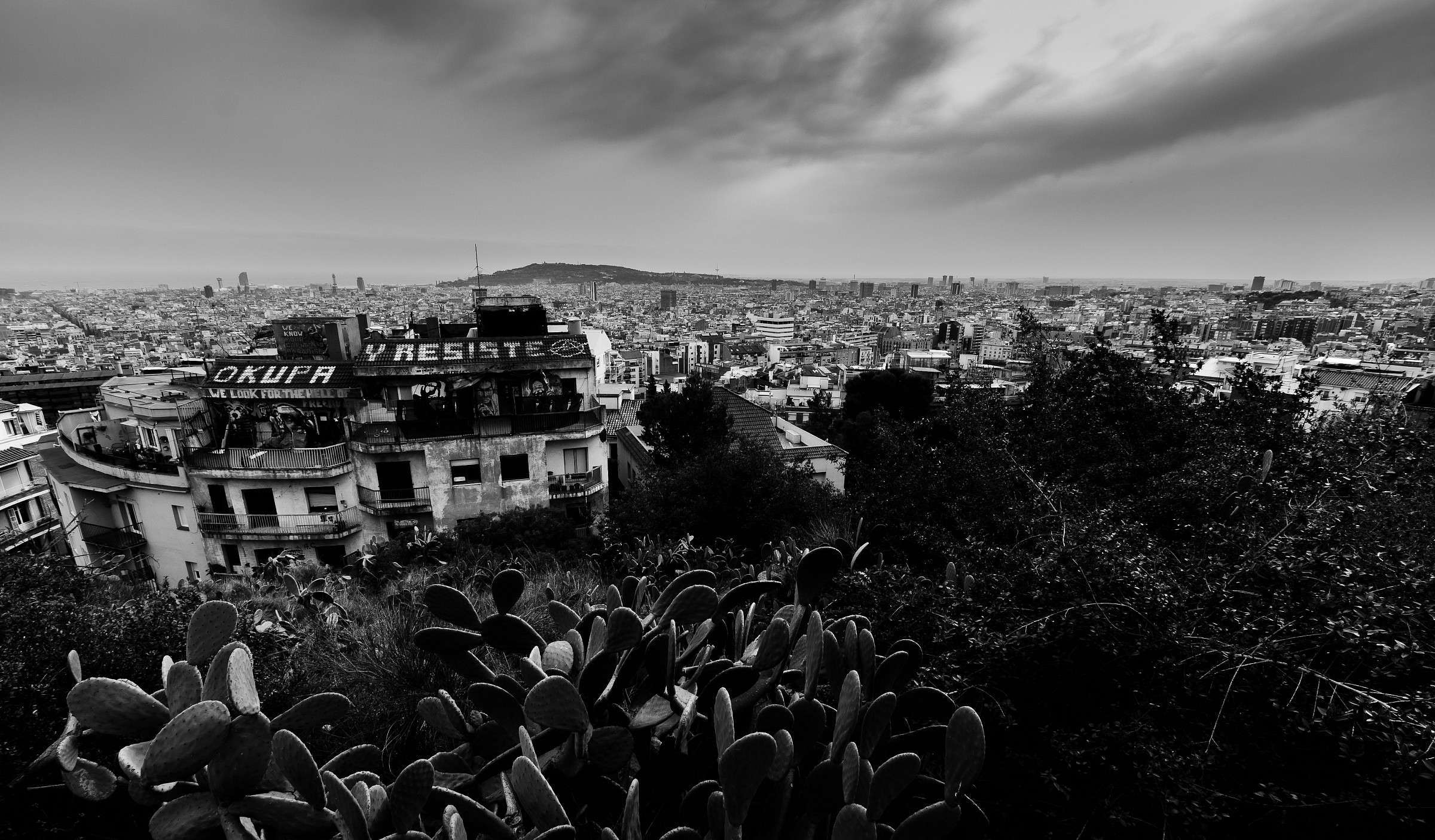 View from Parc Guell...