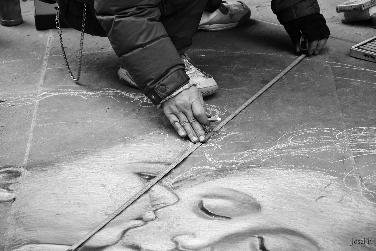 Artista di strada...