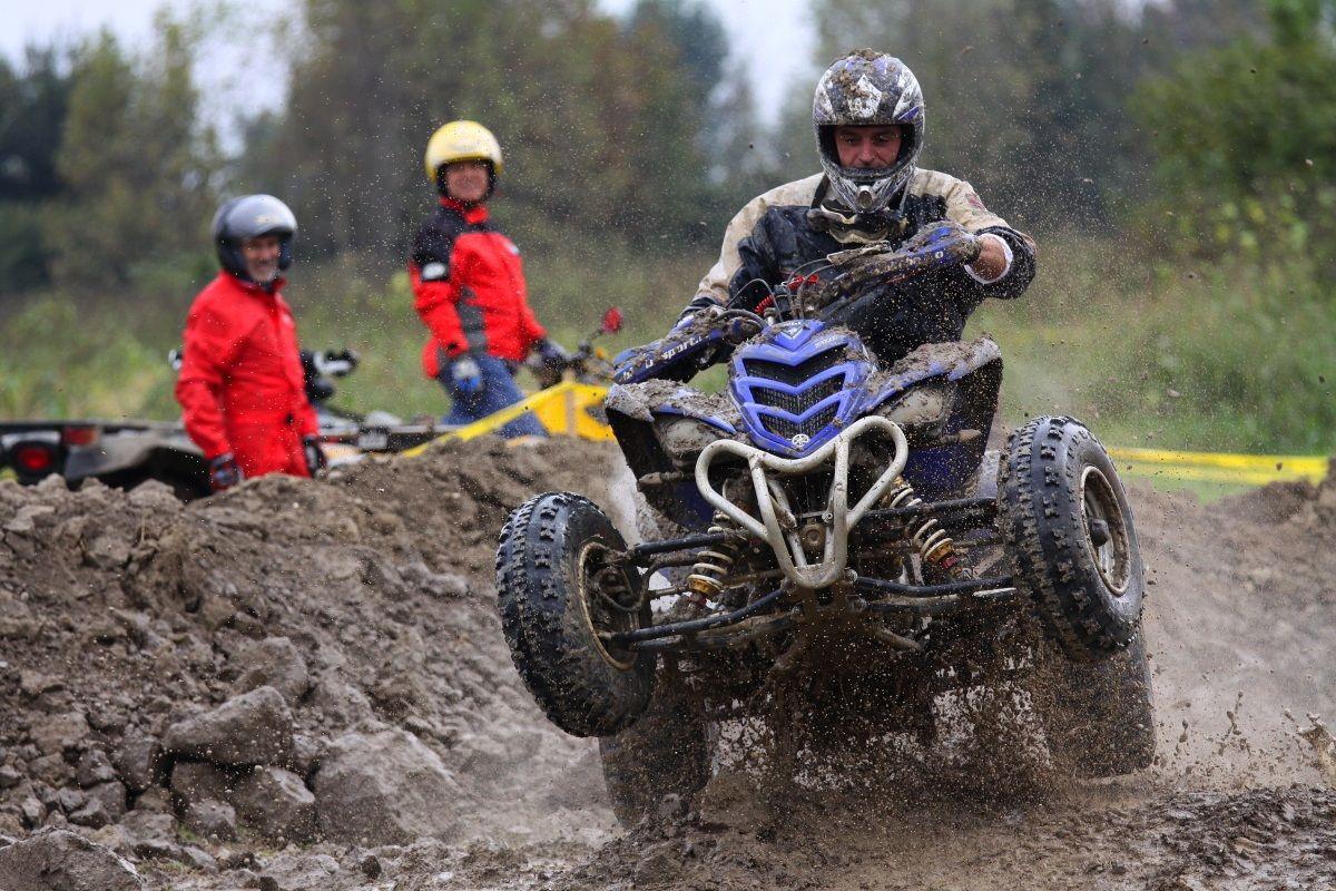 4° quad day Piubega - prova del fango...