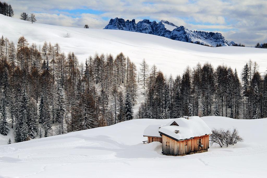 Trentino-dal rifugio Fuciade...