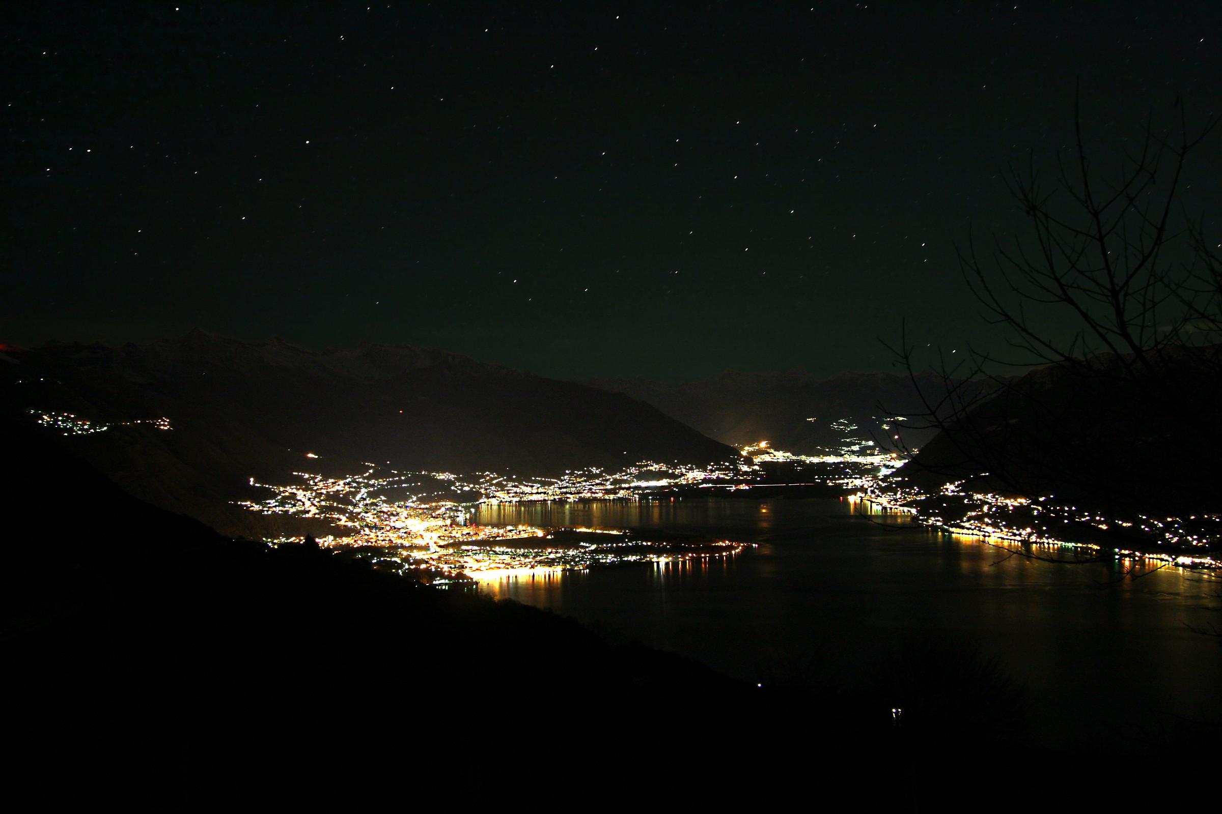 Light pollution...