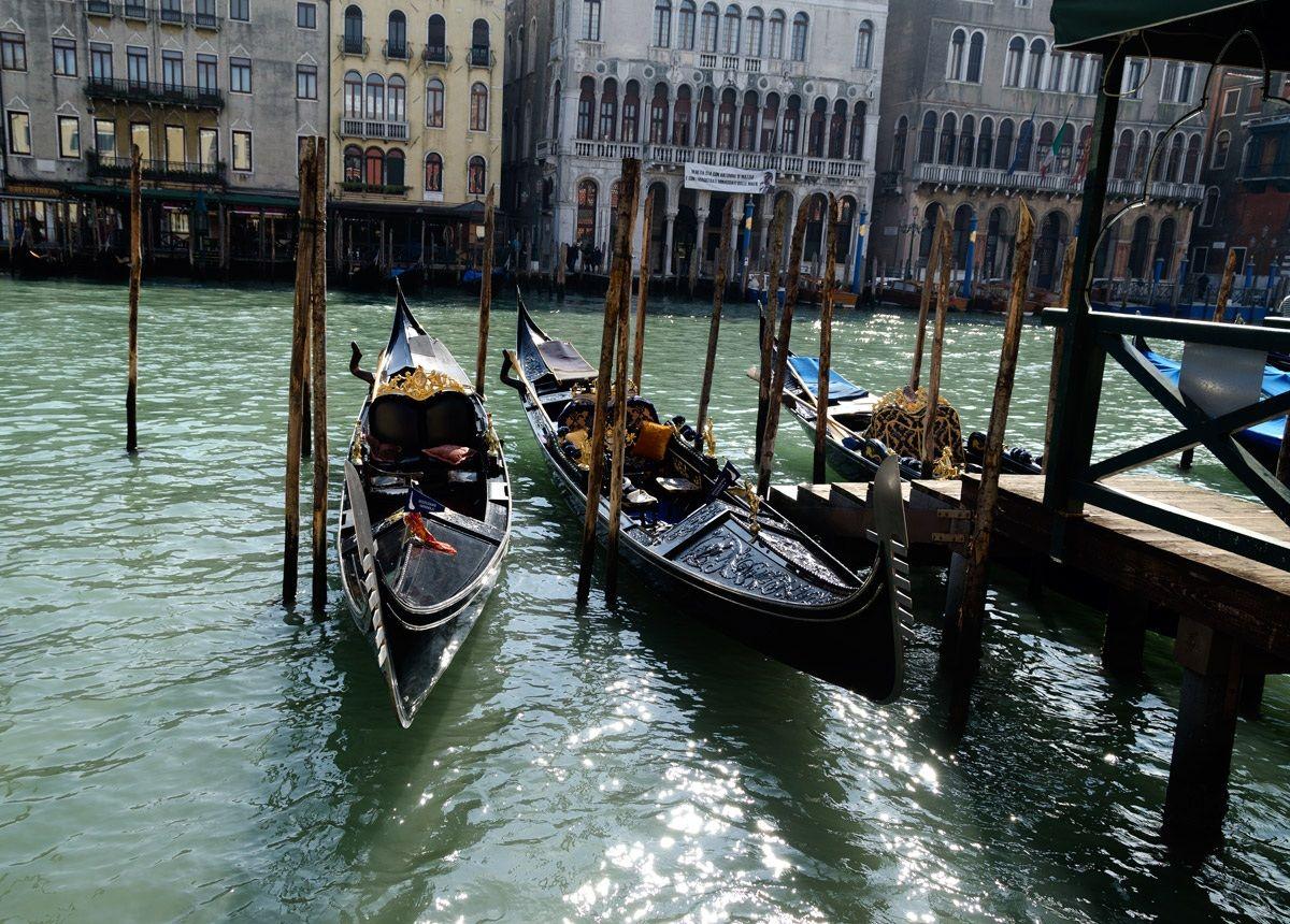 Among the Calli Of Venice...