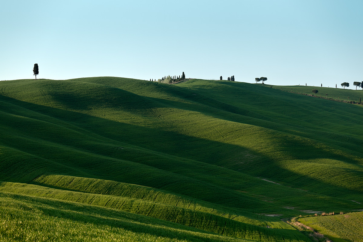 Val d'Orcia (province of Siena)...