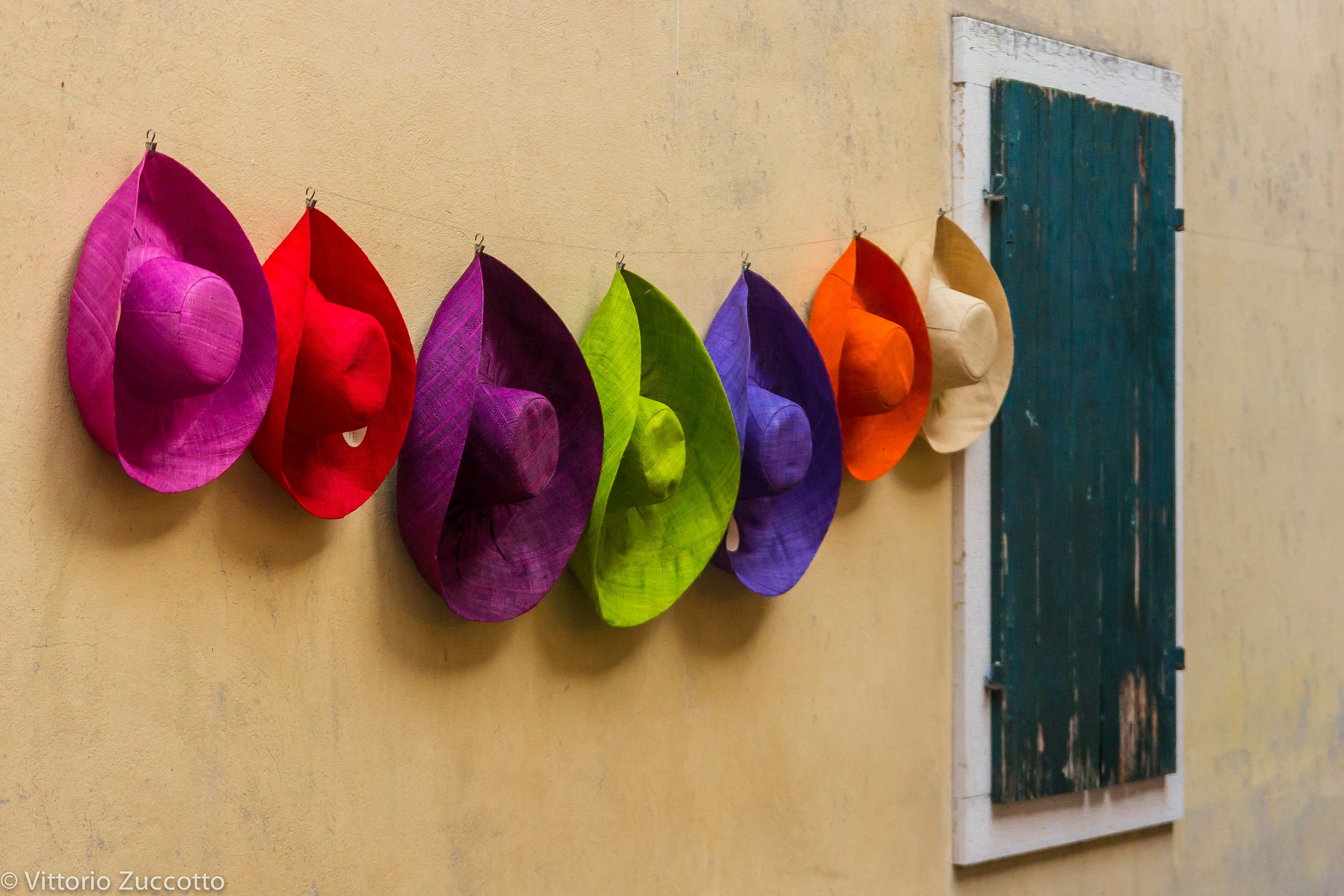 Colorful hats...