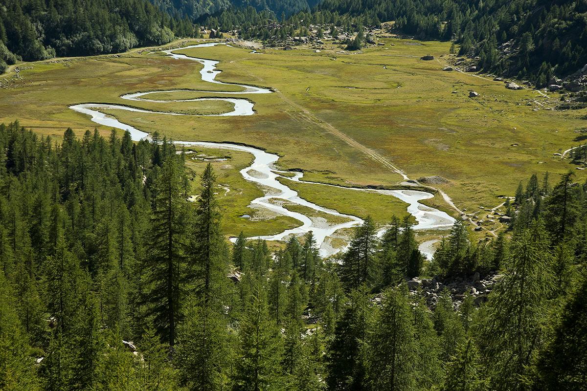 Plain Preda Rossa, Val Masino (province Sondrio)...