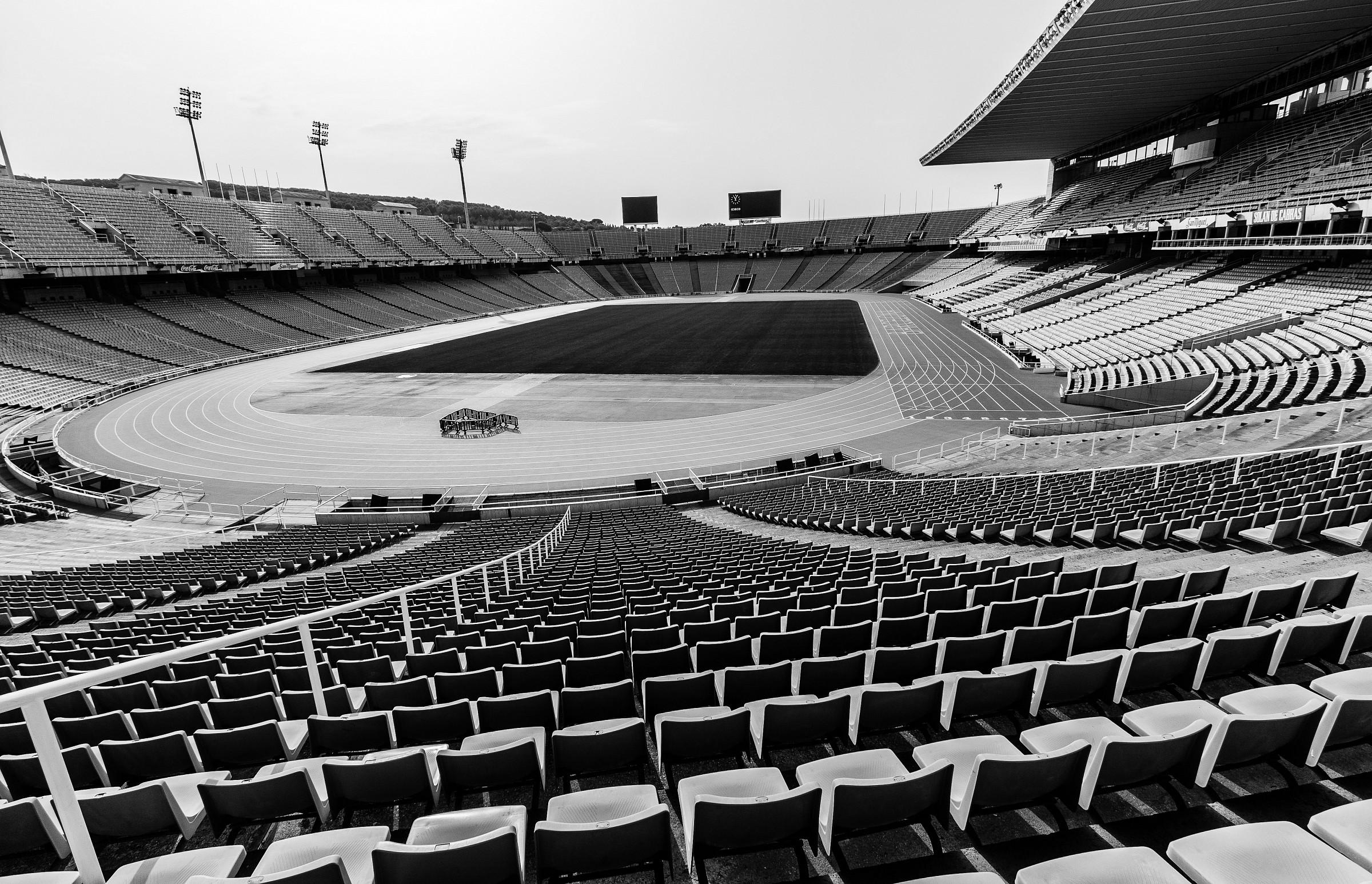 Olympic Stadium...
