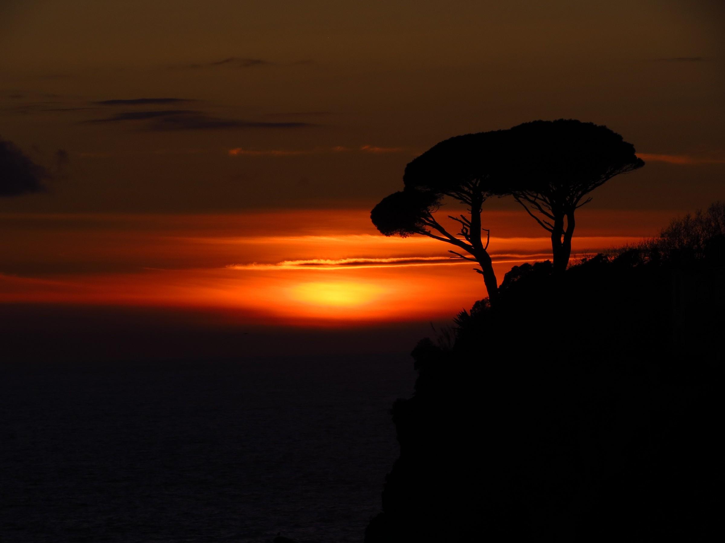 Sunset in Sestri Levante...