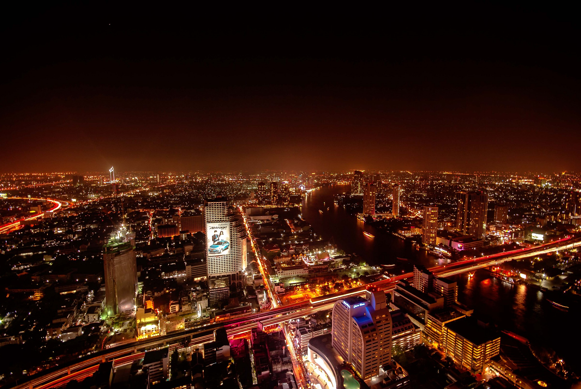 Bangkok by night...