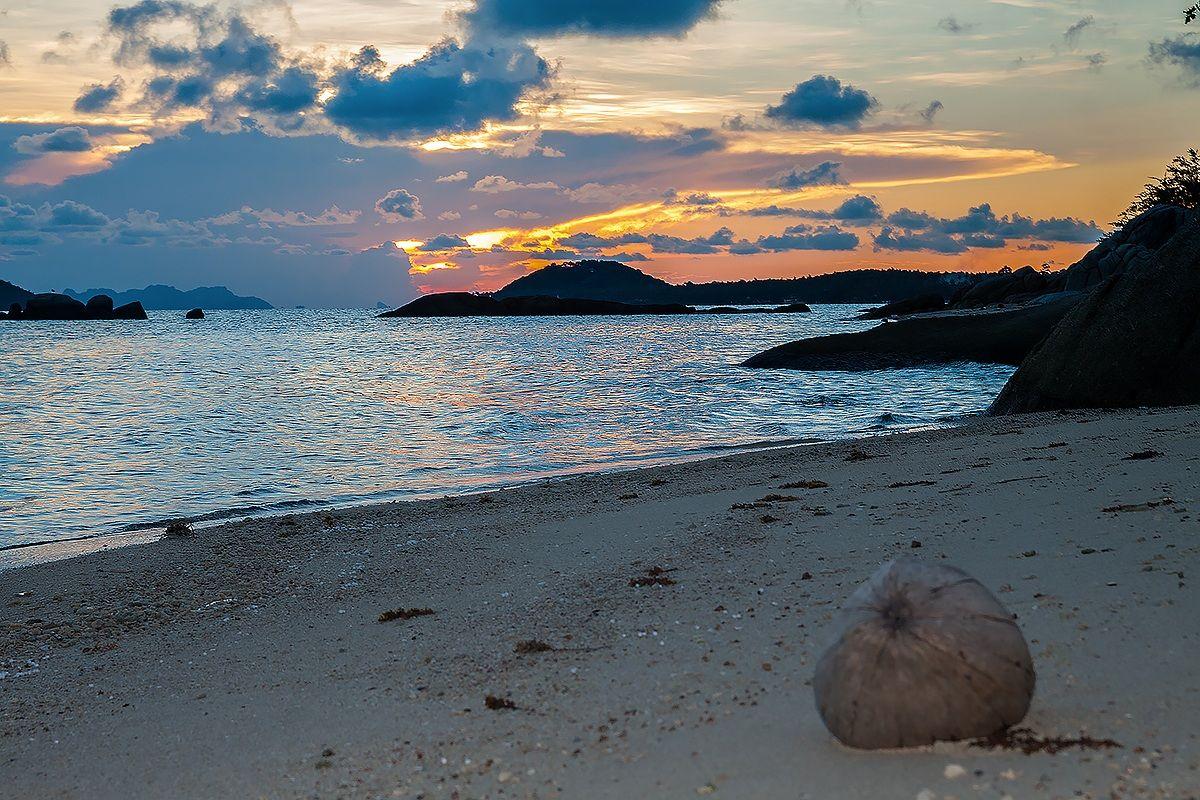Sunset in Samui...